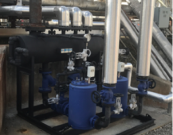 After – Condensate Recovery Skid